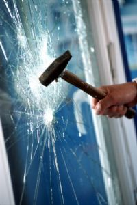 installation verre de sécurité